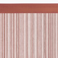 Provázková záclona NISSER 90x300 růžová