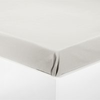 Prostěradlo flanel 140x250 cm šedá