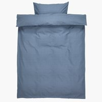 Posteljnina KATJA 140x220 cm modra