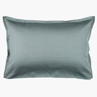 Pillowcase 50x70/75 d.blue KRONBORG