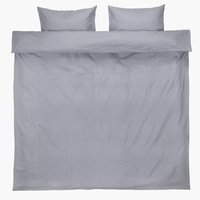 Duvet cover FREJA Flannel DBL l.purple
