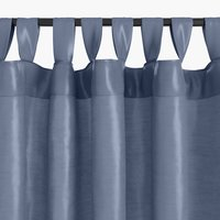 Curtain LUPIN 1x140x300 silk-look blue