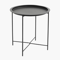 Tavolino RANDERUP Ø47 nero