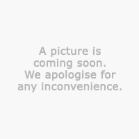 End table SKIBBY w/shelf D50 cm white