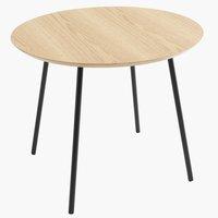 End table NYBO D55 oak/black
