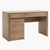 Pisalna miza VEDDE 53x120 divji hrast