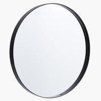 Spejl MARSTAL Ø70 sort
