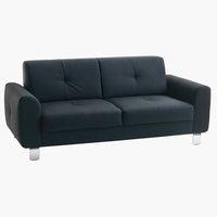 Soffa DAMHALE 3-sits svart