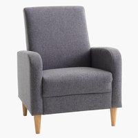 Кресло GEDVED сиво